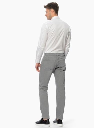 Network Uzun Kollu Klasik Gömlek Beyaz